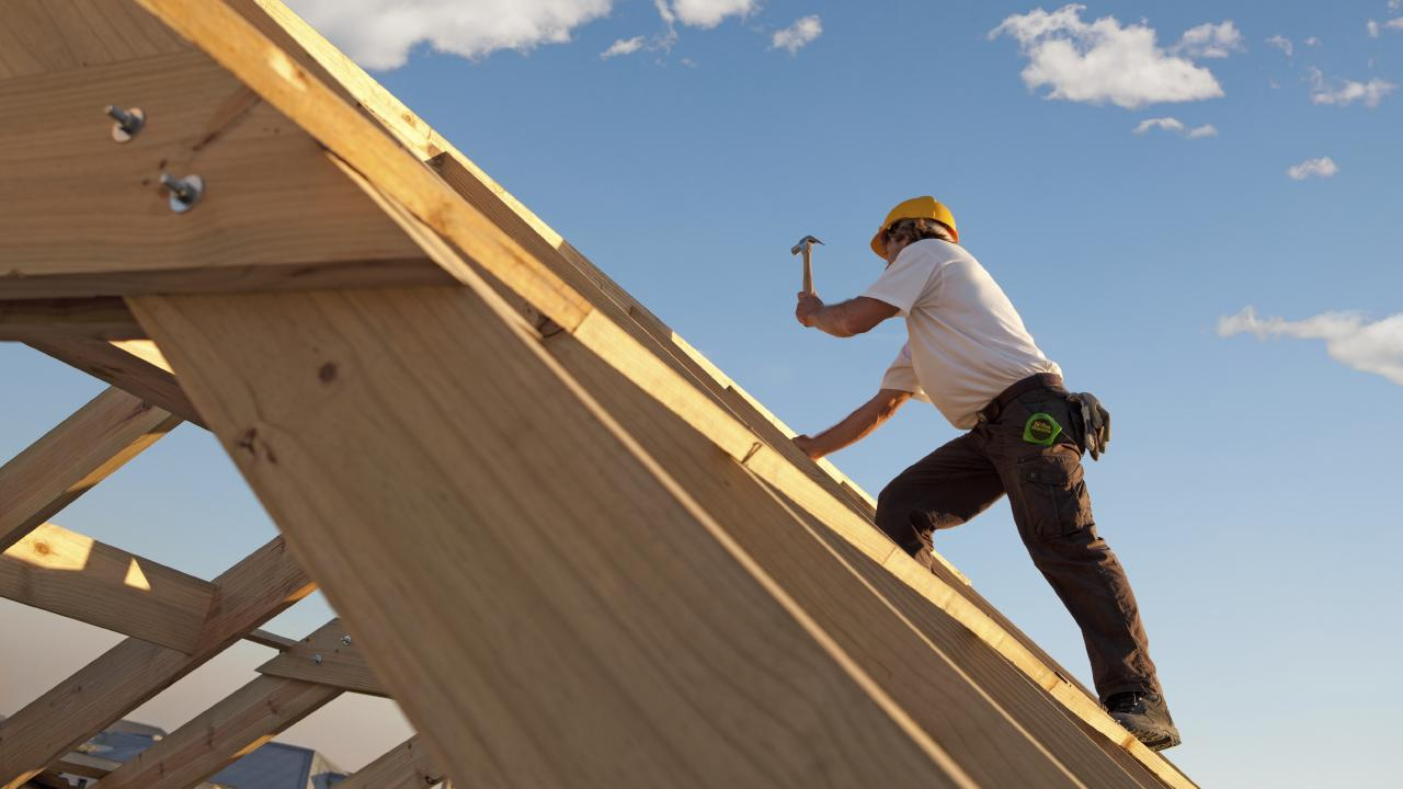 File photo: A company on trial over the 5.9m fall of a roofer didn't install edge protections until after the roofer's death, a court has heard.