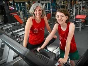 Coast 'Supermums' hit the treadmill for a cause