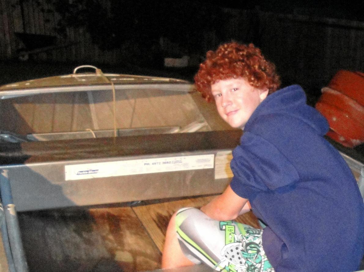 WINNER: Past Observer Boyne Tannum HookUp junior boat winner Kris Gilmore. Picture: CONTRIBUTED