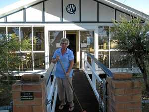 Grants allow much-needed works at QCWA rooms