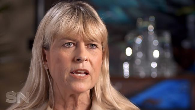 Terri Irwin speaks about her grief at the loss of husband Steve Irwin, during an interview on Sunday Night.