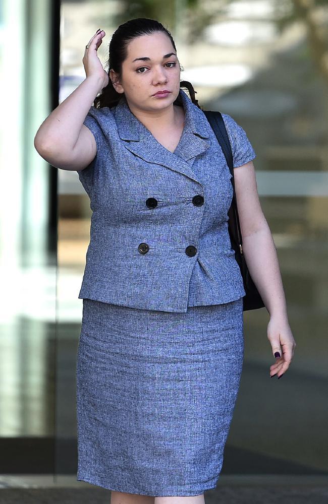 Tori Elizabeth Giacomantonio leaving court on April 23. Picture: AAP/John Gass