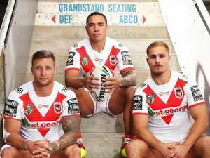 Brutal Dragons back row seven years in the making