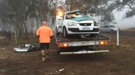 Auto crash in Victoria claims four lives
