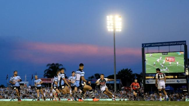 The game just feels better at suburban grounds. (Mark Evans/Getty Images)
