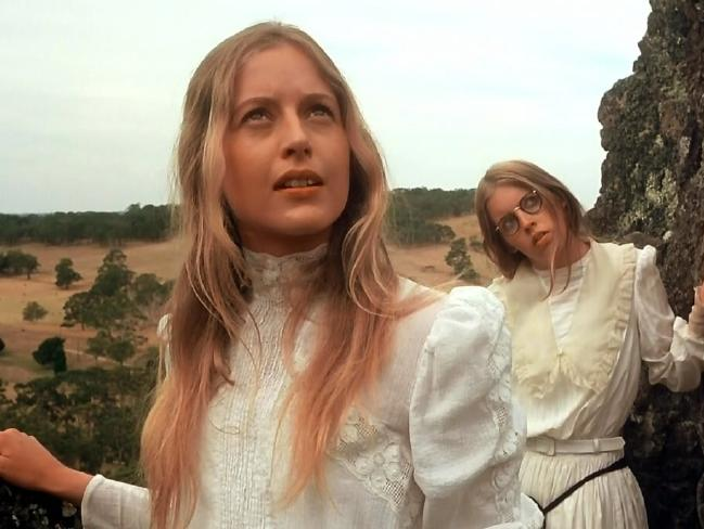 A scene from the 1975 film of Picnic at Hanging Rock.