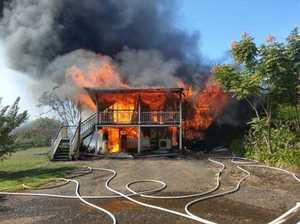 VIDEO, PHOTOS: House destroyed by fire