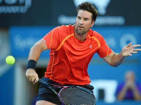 Pat Rafter ended with two Grand Slam effects ... (AAP Image / Dean Lewins)