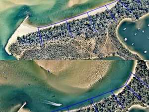 Mass erosion sparks fears of Noosa Spit breakthrough
