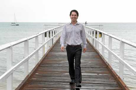 The Fraser Coast Regional Council Mayor, George Seymour.