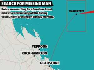 'He's a legend': Hopes for missing deckhand to be found safe