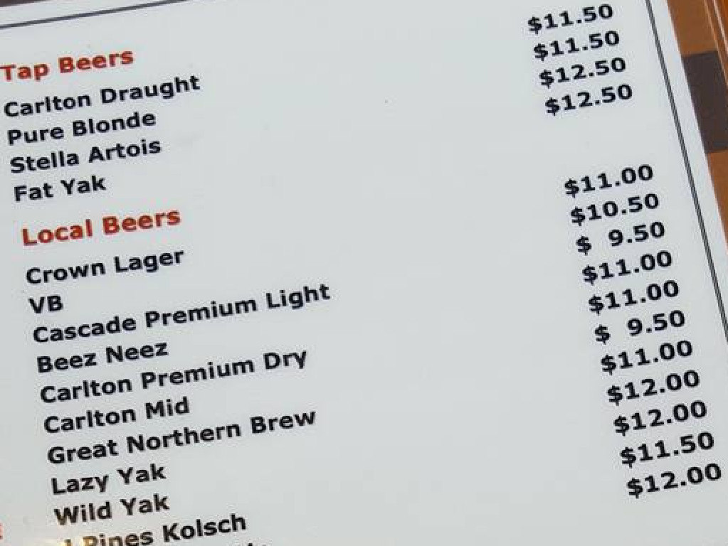 Knocking back a cold one just isn't as satisfying when you have to pay $12 for it.