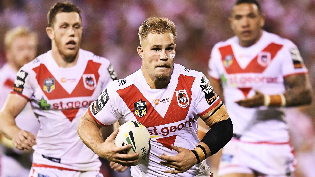 Dragons player Jack De Belin is a good chance of being picked for Origin.