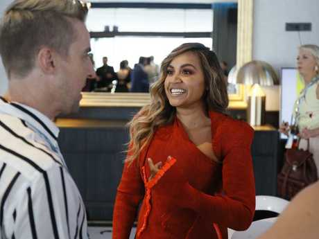 Jessica Mauboy has been described as a 'pocket Tina Turner'. Picture: Eurovision