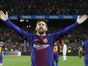 Messi magic puts Barca on brink of 86-year first in Clasico thriller