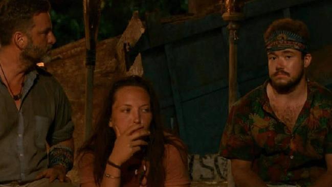 Controversy on Survivor last year. Picture: CBS