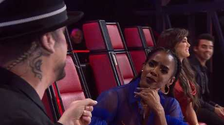 Kelly Rowland was not impressed by Boy George's comments.