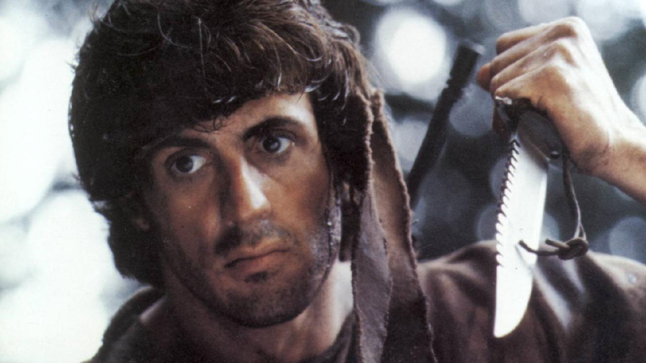 Sylvester Stallone in a scene from Rambo: First Blood. Picture: Supplied