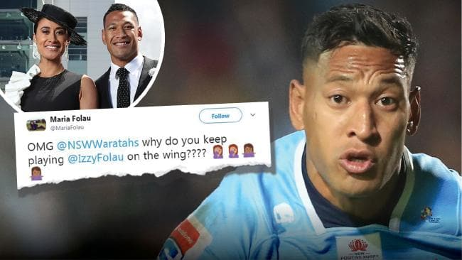 Israel Folau is weighing up a shock defection to the Queensland Reds.