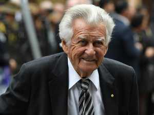 Bob Hawke taken to hospital
