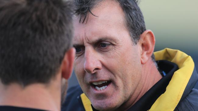Bannockburn co-coach Peter Riccardi.
