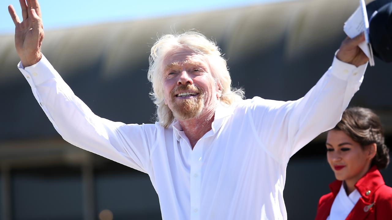 Richard Branson has built on an empire on his unorthodox style. Picture: Phillip Faraone/Getty Images).