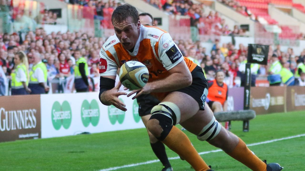 Reniel Hugo of Cheetahs. The team appears in the PRO 14 in Europe.