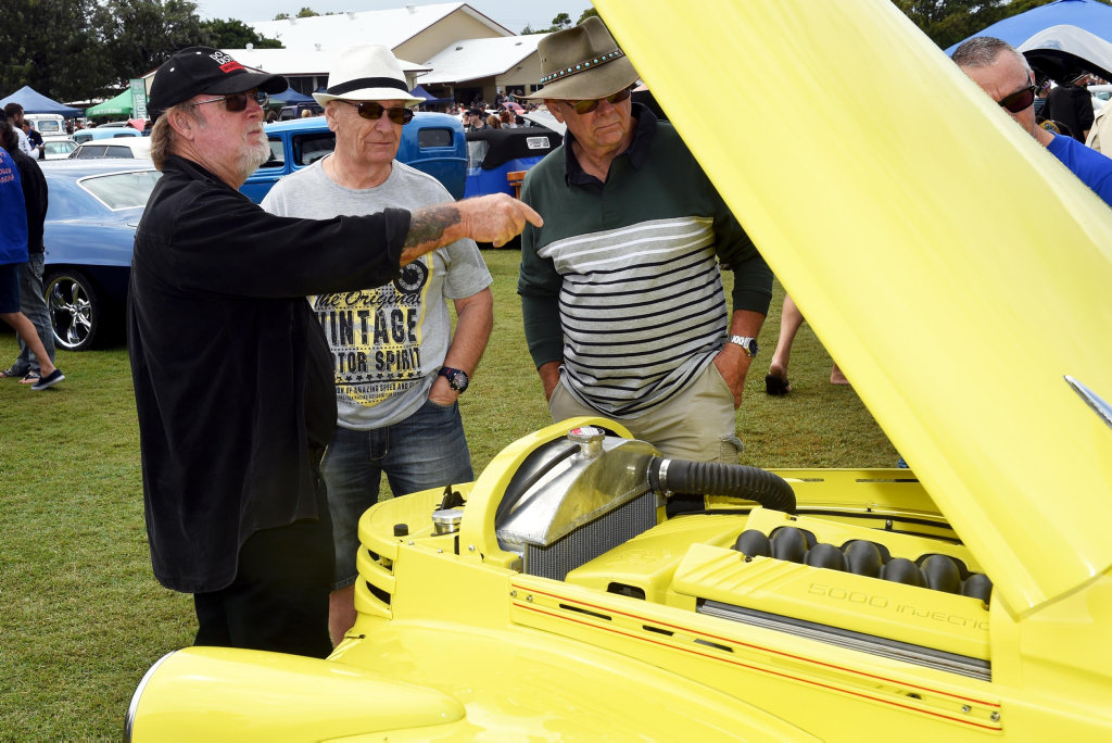 May in the Bay - Wide Bay Hot Rodders show and shine, Hervey Bay -