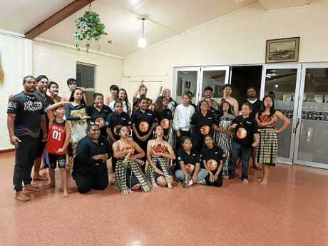 In Tunohopu, the Kunurang Krew were treated to an hour-long performance by the youth group Rarotonga, which means leaders of tomorrow