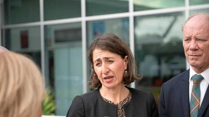 New South Wales Premier Gladys Berejiklian announces plans for the major upgrade of Coffs Harbour Hospital with Coffs Harbour MP Andrew Fraser.