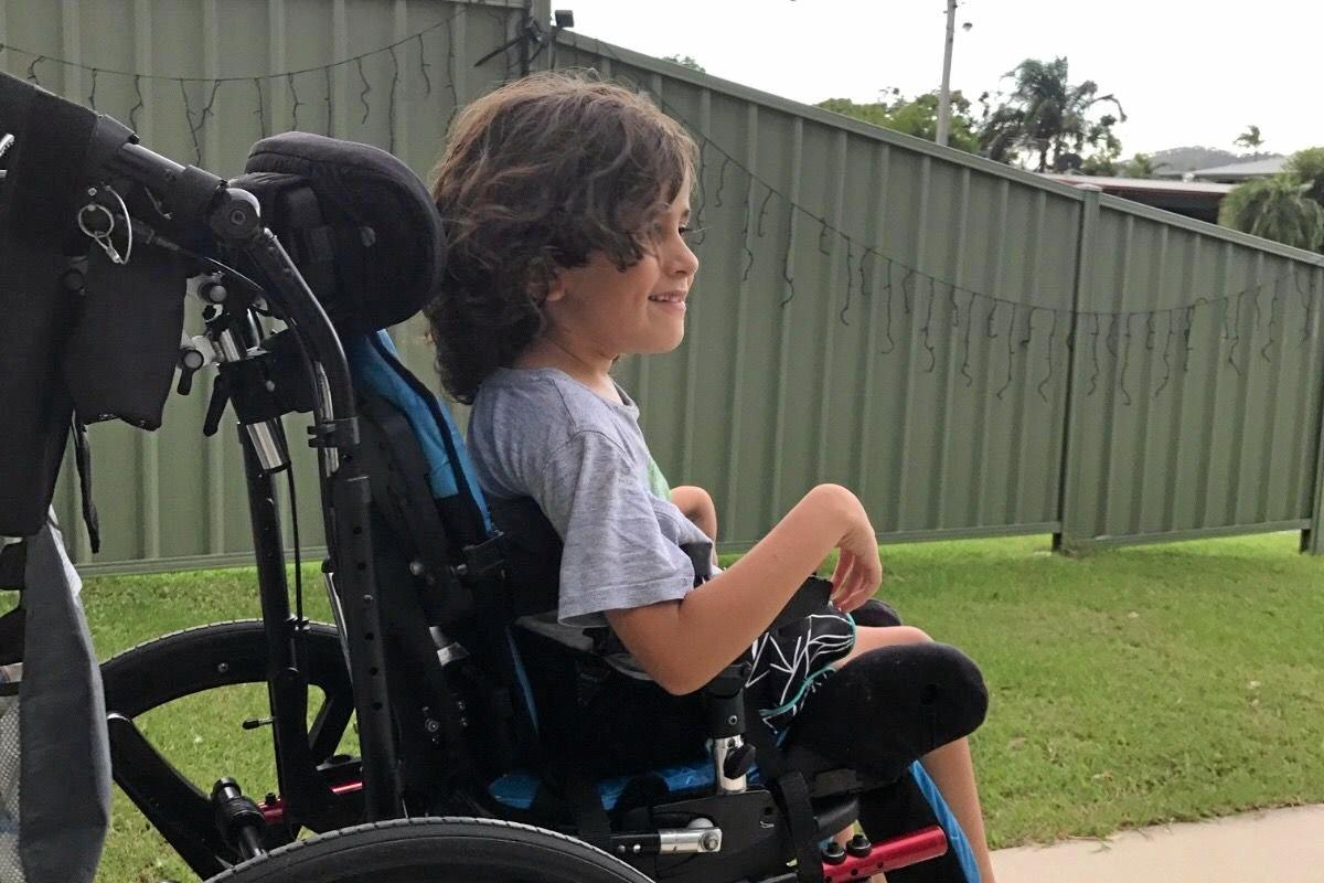 MIRACLE BOY: Izaac Rallings' grandmother, Michelle Rallings, has created a GoFundMe page to buy a wheelchair-accessible car to give her grandson more mobility.
