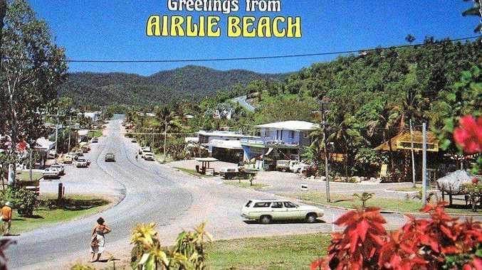 TIME CAPSULE: The Airlie Beach main street circa 1970s.