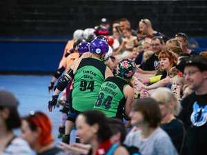 Mackay City Roller Maidens v The Little Murdermaids