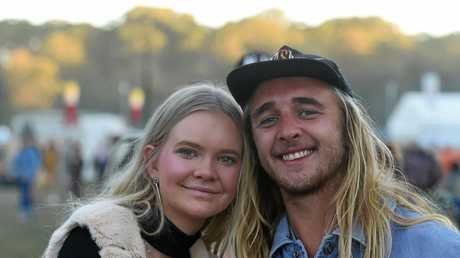 Crowds at Splendour in the Grass 2017 on Day 3 of the gigantic festival.
