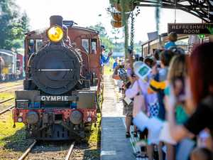 GALLERY: Gympie welcomes iconic steam loco