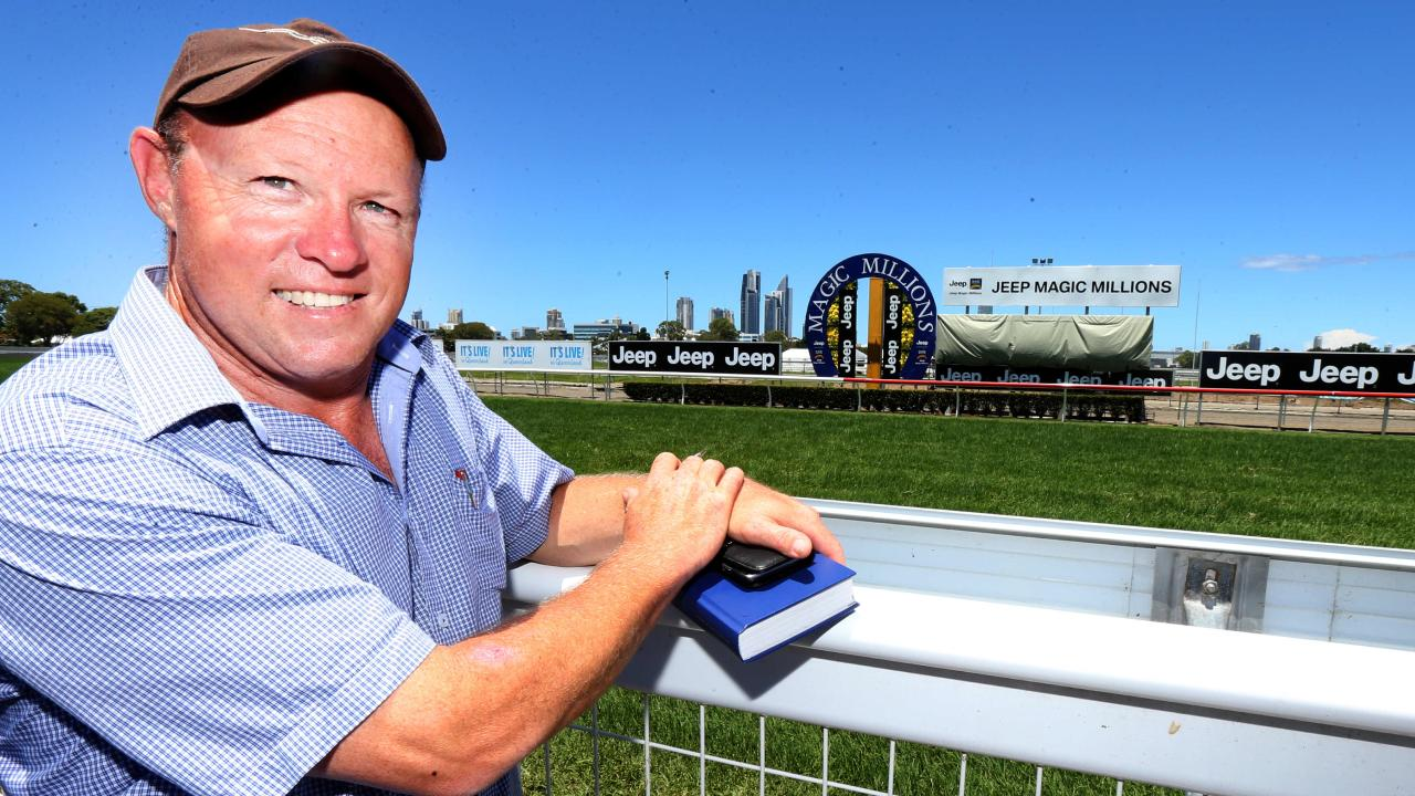 Queensland trainer Liam Birchley.