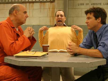 Despite his issues, Jeffrey Tambor, with Tony Hale and Jason Bateman, will return to Arrested Development. Picture: Supplied