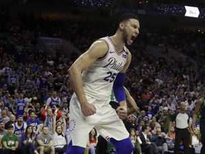 Simmons, Sixers fire up to save season