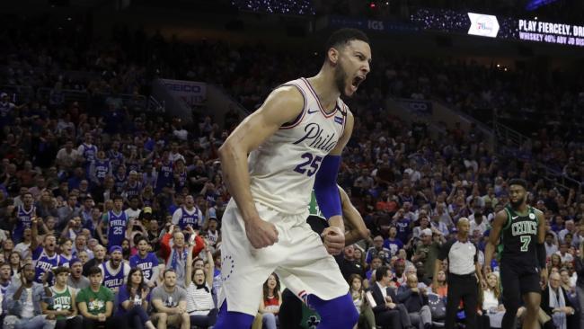 Philadelphia 76ers' Ben Simmons has struggled to make his mark on the series.