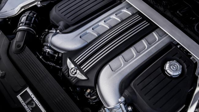 Work of art: the Bentley's W12 engine. Picture: Supplied
