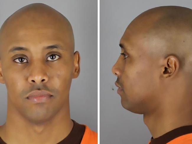 Mohammed Noor's mugshot, which was  released by the Hennepib County Sheriff's Office.