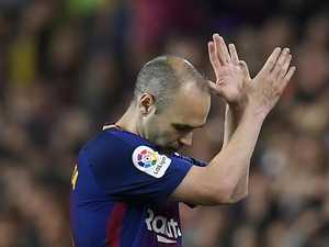 Clubs hover as FFA contact Iniesta armed with $3m war chest