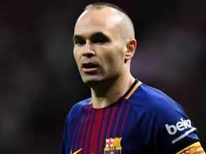 A-League still an option for Iniesta