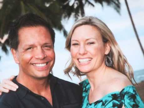 Justine Damond with her fiance, Don Damond.  The Australian yoga instructor had moved to the US to marry her fiancee, whose name she had already legally adopted. Picture: Nathan Edwards