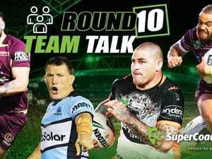 NRL teams round 10 revealed