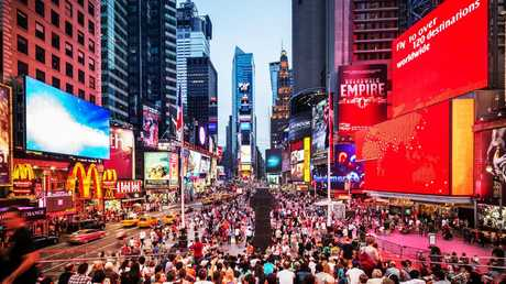 Times Square is a notorious tourist trap.