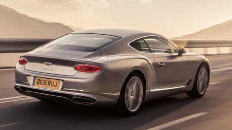 The Continental GT is as quick as some supercars. Picture: Supplied.