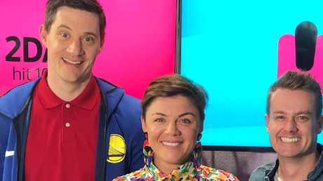 Grant Denyer on 2 Day FM breakfast show.