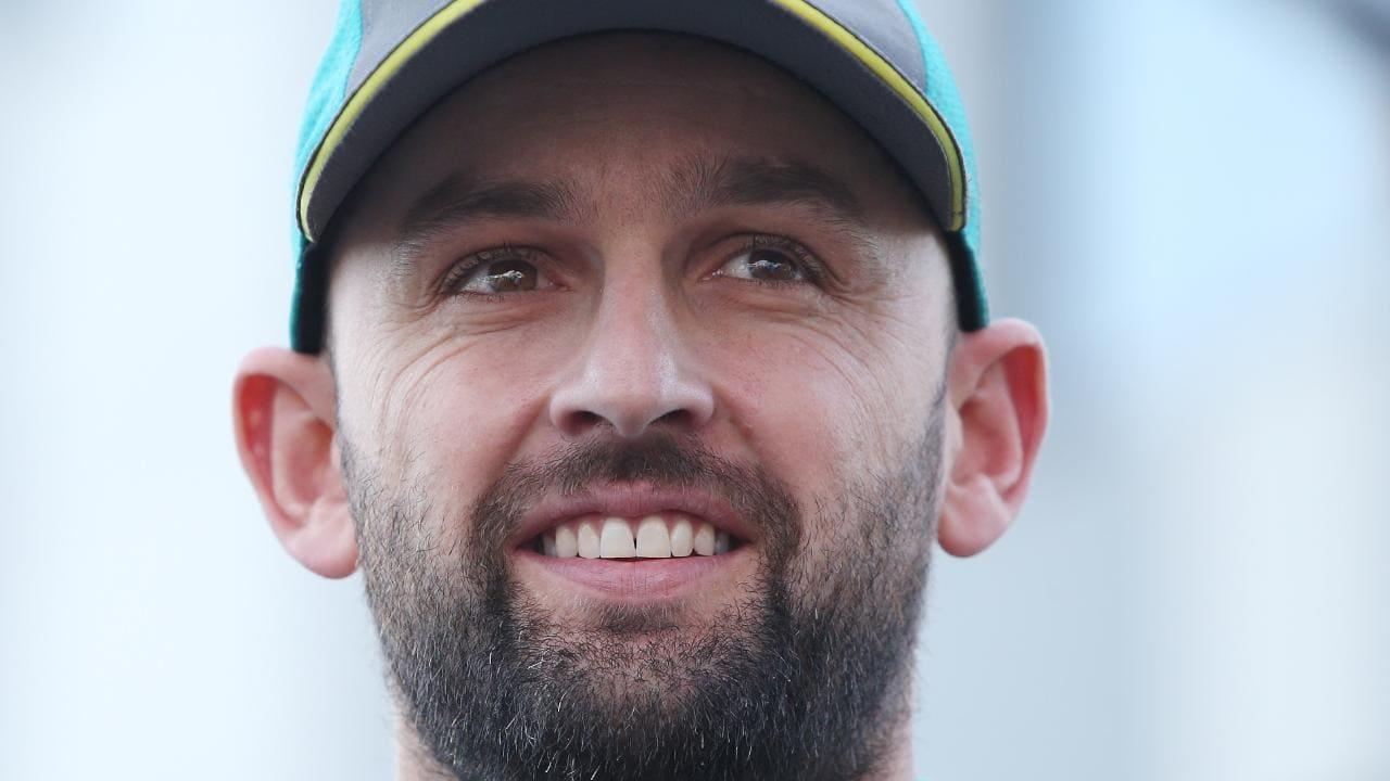 Australian cricketer Nathan Lyon.