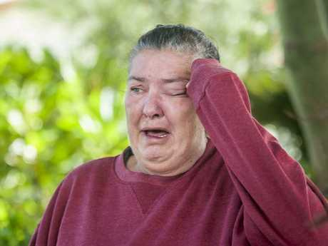 Raymonde Kemp mourns the loss of her neighbour. Picture: Talsa Eley